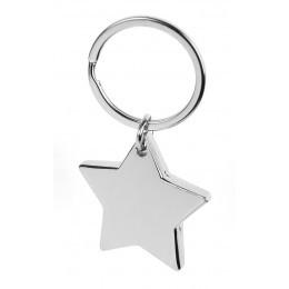 Металлический брелок Звезда