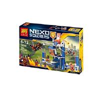 Серия конструкторов Nexu Knights, Библиотека Мерлока 79244, конструктор 304 детали. Лего совместимый