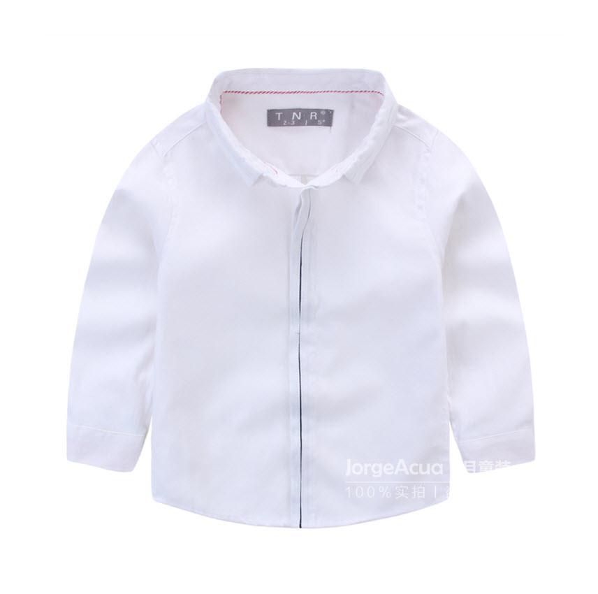 "Рубашка ""Стайл"" (бел) 130"