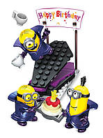 Конструктор Mega Bloks Minions вампиры сюрприз Happy Birthday