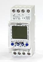 Реле времени таймер недельный / суточный двухканальный с запасом хода резервом 3 года с батарейкой на дин DIN