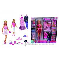 Кукольный набор Штеффи с гардеробом Steffi Evi Love 573 6015