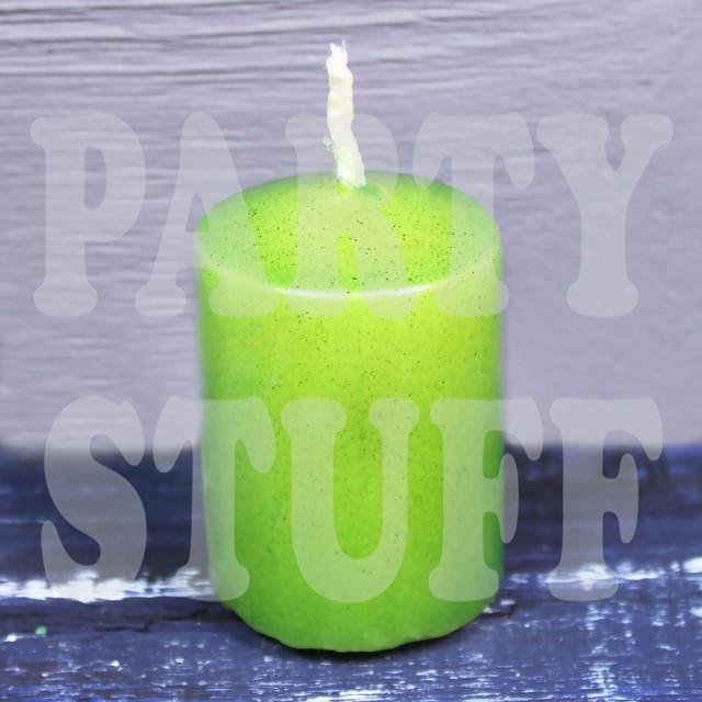 Свечи бочонок зеленые