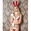 Эротический костюм зайчика, игровой костюм сексуальной  bunny