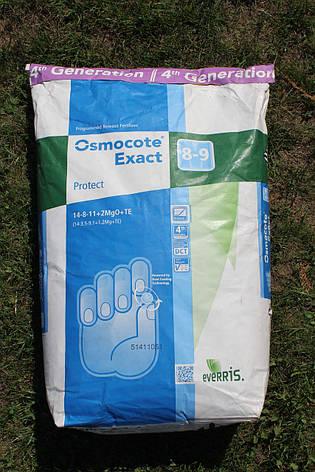 Osmocote Exact Protect 14-8-11+2MgO+TE (8-9мес.) 25кг., фото 2