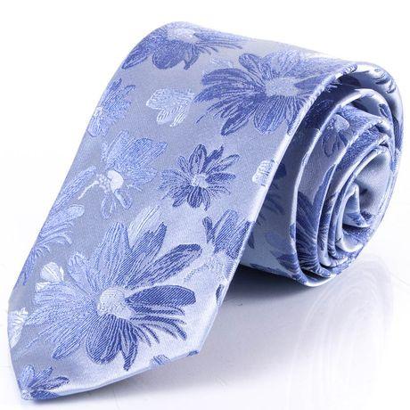 Чоловічий шовковий галстук SCHONAU & HOUCKEN FARESHS-11 -синій