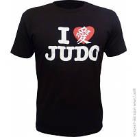 Футболка Fuji Heart Judo M, чёрный (FJ JUDO)