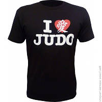 Футболка Fuji Heart Judo L, чёрный (FJ JUDO)