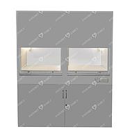 Шкаф лабораторный вытяжной двухстворчатый ШВ-2