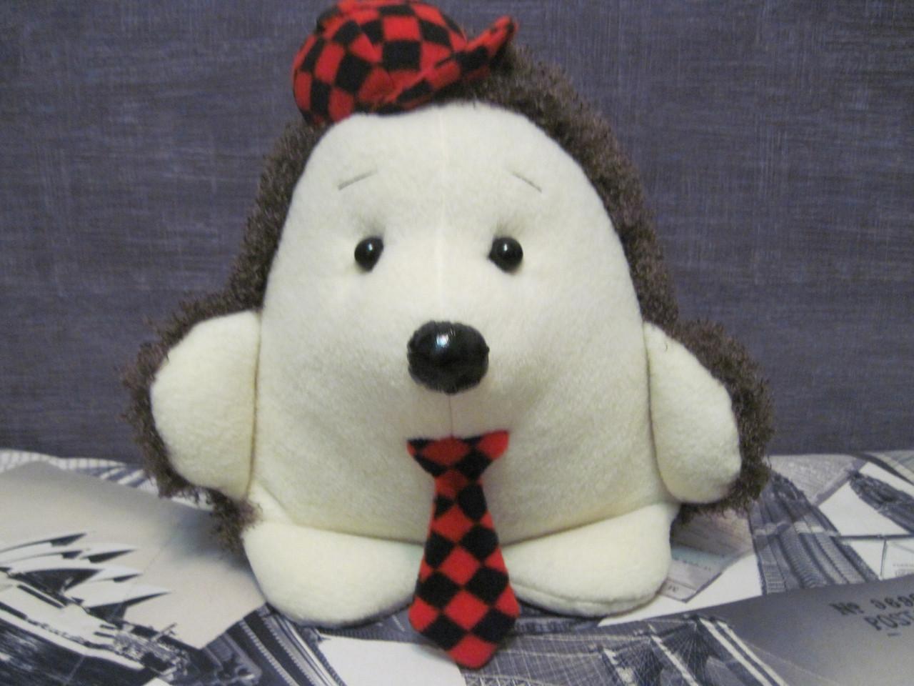Мягкая игрушка - подушка ёж ручная работа