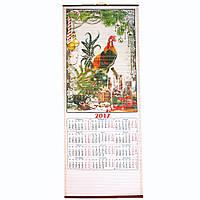 Календарь-соломка настенный год Петуха