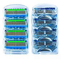 Сменные кассеты для бритья Gillette Fusion Power (4шт.) без упаковки