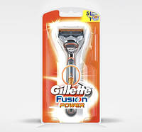 Бритвенный станок Gillette Fusion Power и 1 кассета GS1710759, фото 1