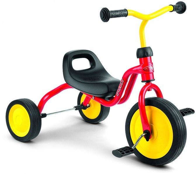 Велосипед детский трехколесный Puky Fitsch (Германия), красный