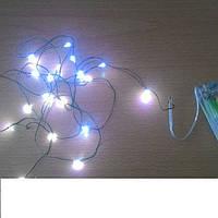 Гирлянда светодиодная на батарейках (2м.) цветная