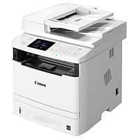 МФУ лазерное ч/б A4 Canon MF411dw (0291C022), White, WiFi, дуплекс, 600x600 dpi, до 33 стр/мин, цветной сенсорный ЖК-экран 8.9 см, Lan / USB (картридж