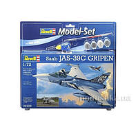 Конструктор Model Set Самолет Saab JAS 39C Gripen 1:72 Revell 64999