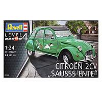 Конструктор Автомобиль Citroën 2CV Sausss Ente 1:24 Revell07053