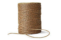 Шпагат Джутовый (100г), толщина мм джутовые веревки