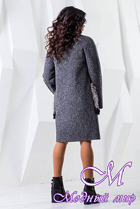 Женское зимнее пальто большого размера (р. 44-60) арт. 966 Тон 13, фото 2