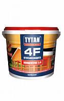 """Огнебиозащита, комплексный антисептик для древесины ТМ """"TYTAN"""" 4F - 5,0 кг."""