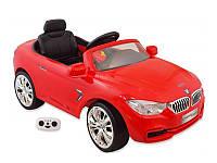 Детский электромобиль Alexis Baby Mix BMW красный