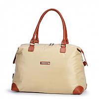 Женская сумка Dolly 453 классическая под формат А-4 в бежевом цвете