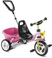 Велосипед трехколесный Puky CAT 1 S (Германия), розовый/киви, фото 1