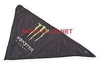 """Бандана   """"KML""""   (MONSTER ENERGY, черная, mod:WL-ED003)"""