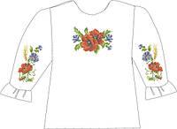 Заготовка вышивки бисером Детская блузка СВДП-9