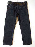 Вельветовые штаны для мальчика от 5 до 8 лет