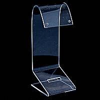 Подставка для серёг,прозрачный пластик, высота 115мм