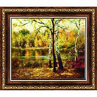 """Схема бисером """"Осенний пейзаж"""""""