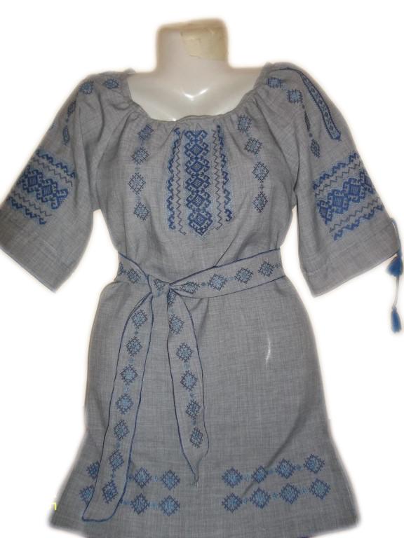 """Жіноче вишите плаття """"Ілана"""" (Женское вышитое платье """"Ілана"""") PL-0023"""