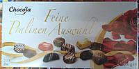 Немецкие шоколадные конфеты ассорти Chocola Feine Pralinen Auswahl 400 грамм