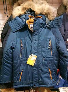Подростковая куртка с мехом оптом