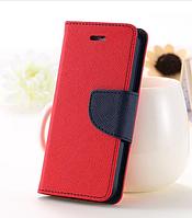 Розовый чехол-книжка для Iphone 4/4S на магнитной застежке и с ремешком на руку
