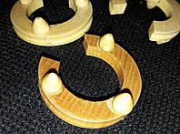 Подкова декоративная мини из дерева, 4х3 см, 6\5
