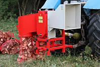 Измельчитель веток для трактора Arpal АМ-120 под ВОМ (бункер на 2 мешка)