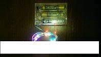 Гирлянда светодиодная на батарейках цветная (2м), фото 1