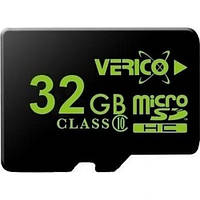 Карта памяти Verico MicroSDHC 32GB Class 10 (card only)