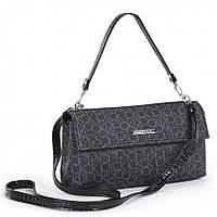 Женская сумка клатч Dolly 141 черный молодежный, модный