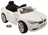 Детский электромобиль Alexis Baby Mix BMW белый