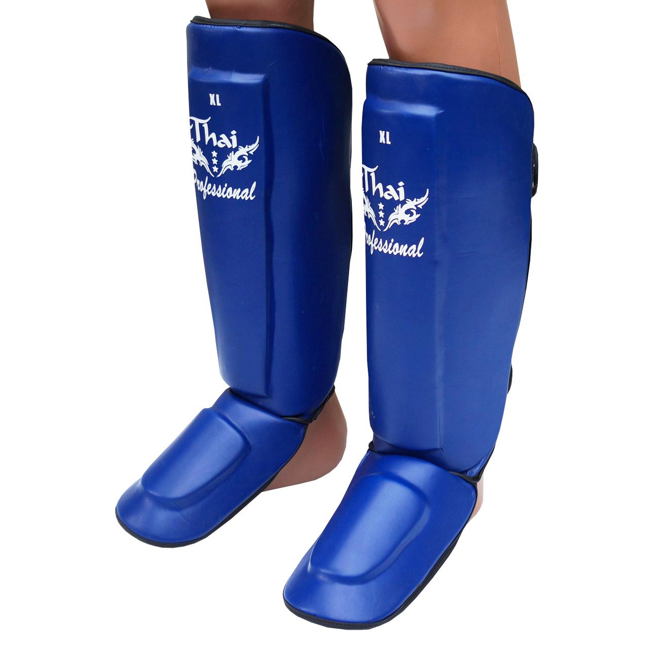 Защита ног (Щитки) Thai Professional SG3 Blue