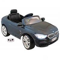 Детский электромобиль Alexis Baby Mix BMW серый
