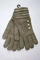Качественные вязаные перчатки