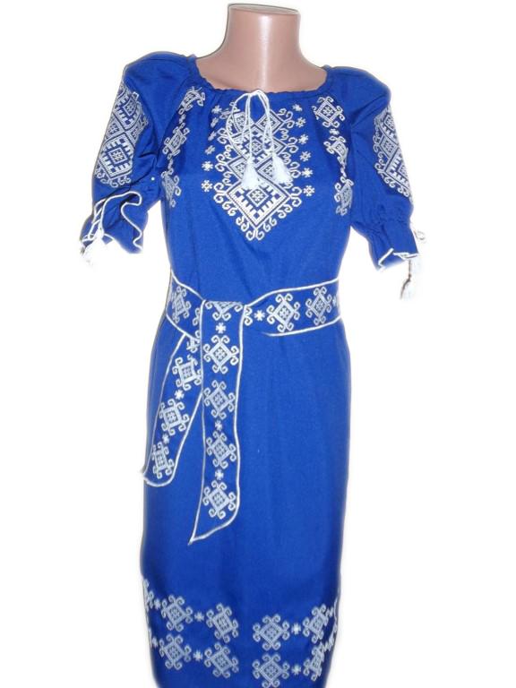 """Жіноче вишите плаття """"Ізабель"""" (Женское вышитое платье """"Изабель"""") PL-0021"""