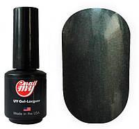 Гель-лак My Nail System № 172 темно-серый с микроблеском 9 мл.