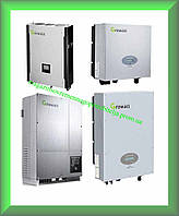 Инверторы напряжения сетевые GROWATT 5000UE (5кВт, 3-фазный, 2 МРРТ)