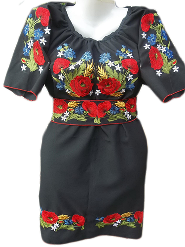 Вишиті жіночі плаття - по індивідуальних мірках для Вас  cd0b29c47a867